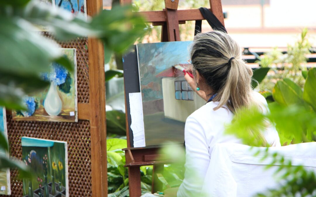 Find a Creative Outlet to Deal with Anxiety